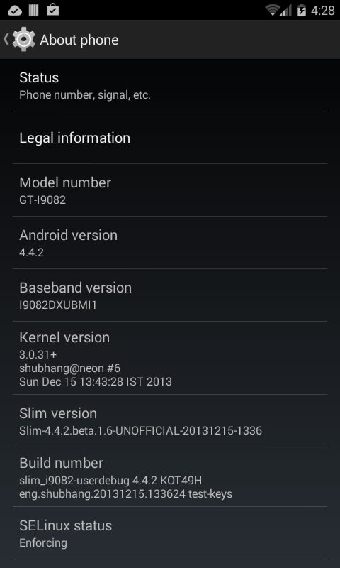 Cara Upgrade Galaxy Grand ke KitKat 4.4.1