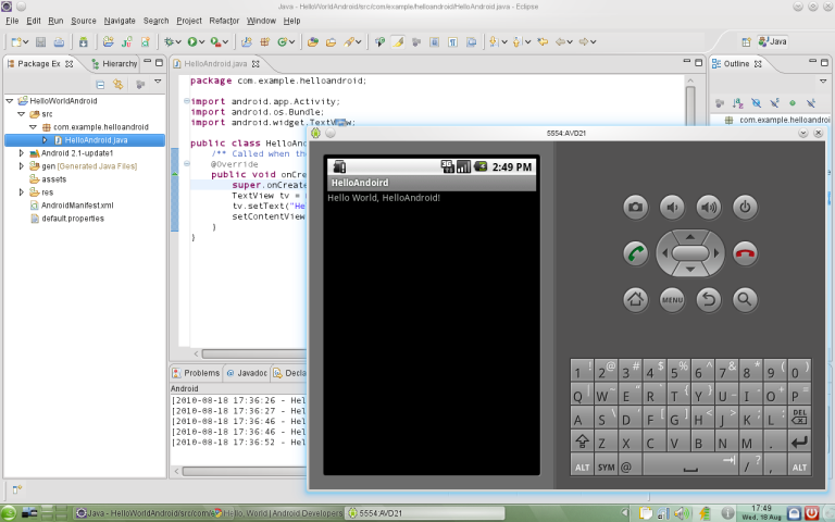 sdk eclipse android